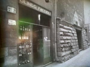 Enoteca storica Faccioli old photo