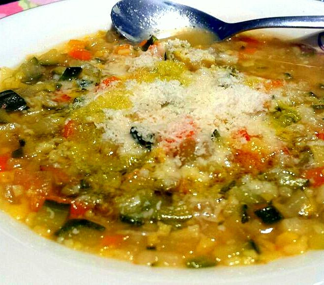 MInestrone with veggies
