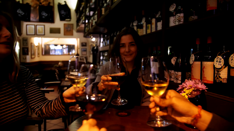 walking tour wine tasting bologna